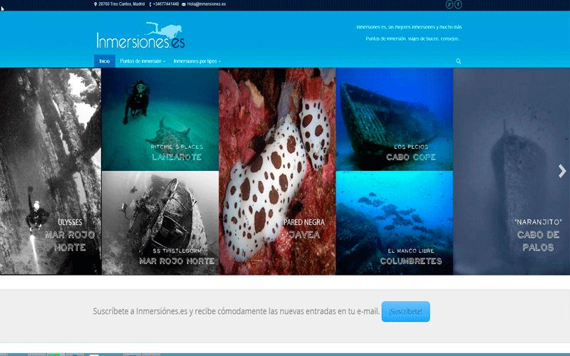 web de buceo, los mejores sitios de inmersión